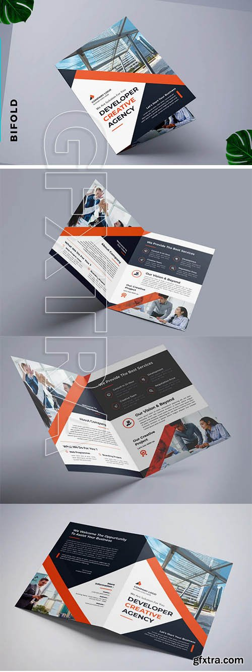 Bifold Brochure Real Estate & apartment Developer