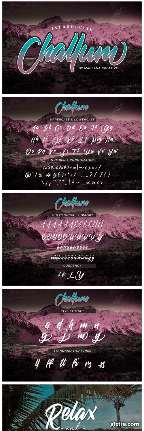 Challum Font