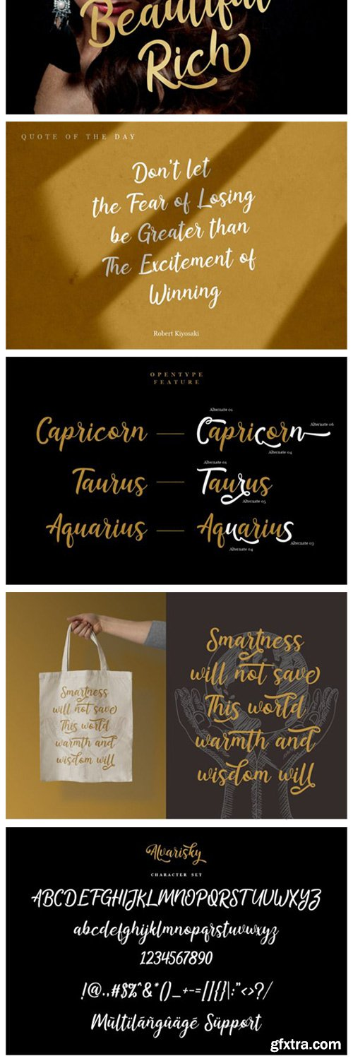 Alvarisky Font