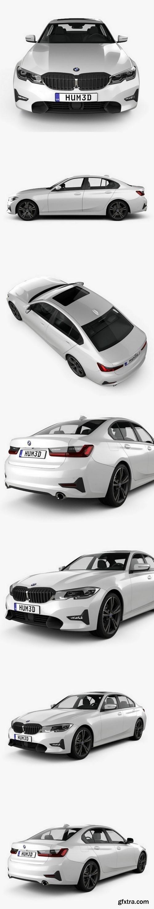 BMW 3 Series (G20) Sport Line sedan 2019 3D model