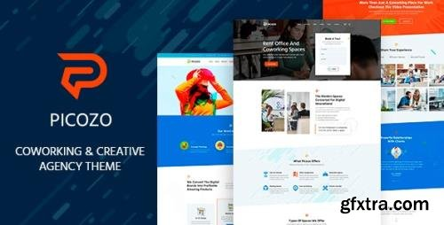 ThemeForest - Picozo v1.3 - Coworking and Office Space WordPress Theme - 29422650