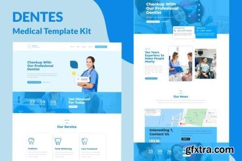 ThemeForest - Dentes v1.0.0 - Medical Elementor Template Kit - 30445681