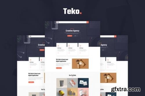 ThemeForest - Teko v1.0.0 - Creative Agency Template Kit - 30757465