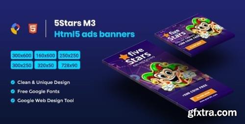 CodeCanyon - 5 Stars HTML5 Animate Banner Ads - GWD M3 v1.0 - 23753134