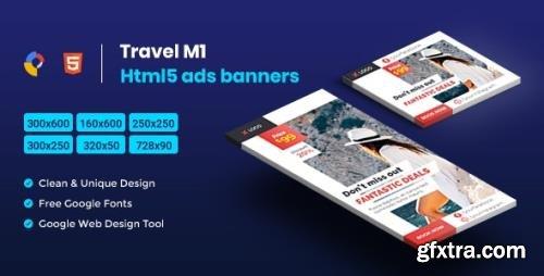 CodeCanyon - Travel HTML5 Animate Banner Ads- Google Web Design M1 v1.0 - 23725620