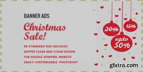 CodeCanyon - Christmas Sale Banner HTML5 - Animate v1.0 - 19029575