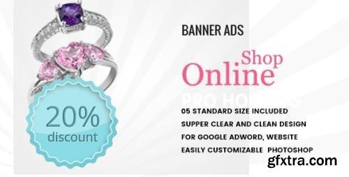 CodeCanyon - Multipurpose Online Shop Banner HTML5 - Animate v1.0 - 19012563