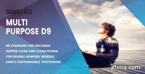 CodeCanyon - Multi Purpose Banners HTML5 D9 - Animate v1.0 - 18765058