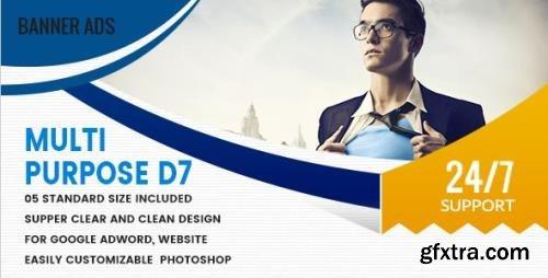 CodeCanyon - Multi Purpose Banners HTML5 D7 - Animate v1.0 - 18592065