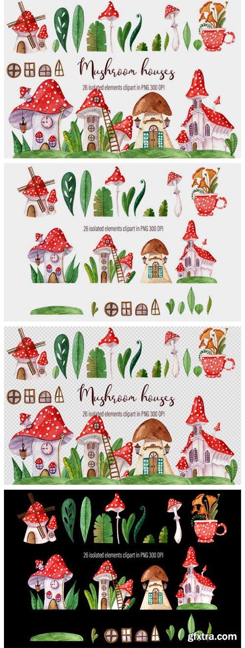 Fairy Houses, Small Mushroom Houses 8762095