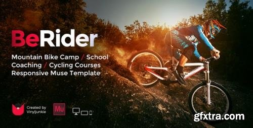 ThemeForest - BeRider v1.0 - Mountain Bike School / MTB Camp / Cycling Courses Responsive Muse Template - 19551596