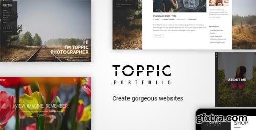 ThemeForest - TopPic v4.0.3 - Portfolio Photography Theme - 12735873