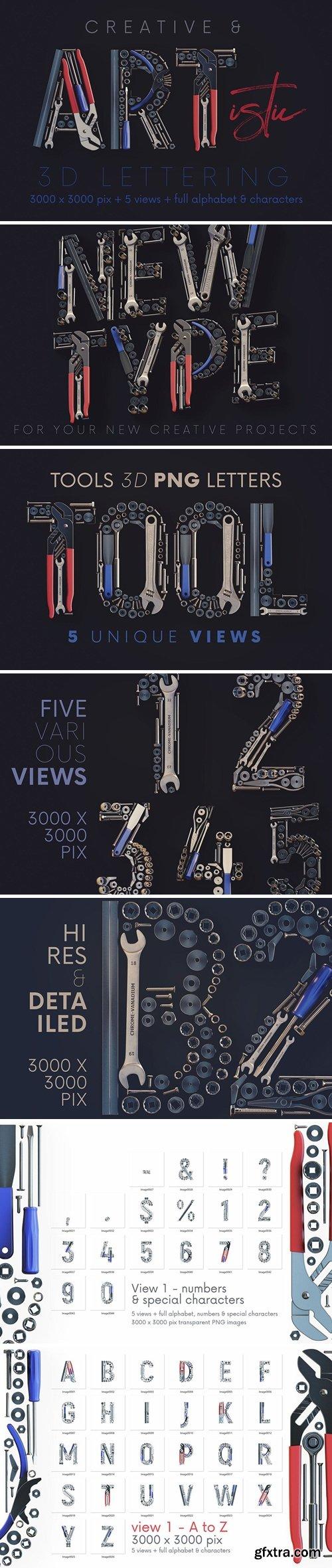 Tools - 3D Lettering