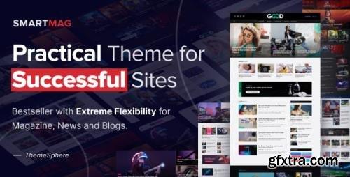 ThemeForest - SmartMag v5.0.2 - News & Magazine WordPress - 6652608