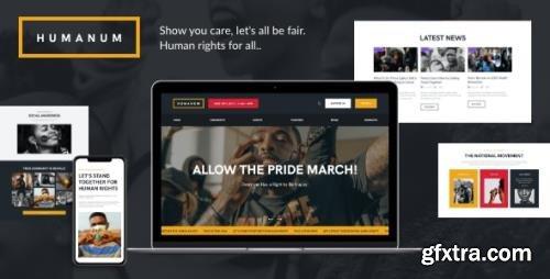 ThemeForest - Humanum v1.0.1 - Human Rights WordPress Theme - 28111940 - NULLED