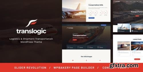 ThemeForest - Translogic v1.2.2 - Logistics & Shipment Transportation WordPress Theme - 19329142