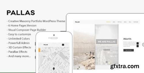 ThemeForest - Pallas v1.8.6 - Creative Multi-Purpose WordPress Theme - 10833842