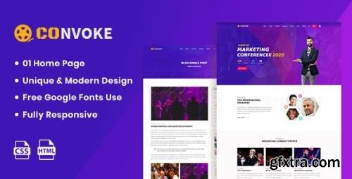 ThemeForest - Convoke v1.0 - Event & Conference HTML5 Template - 25587922