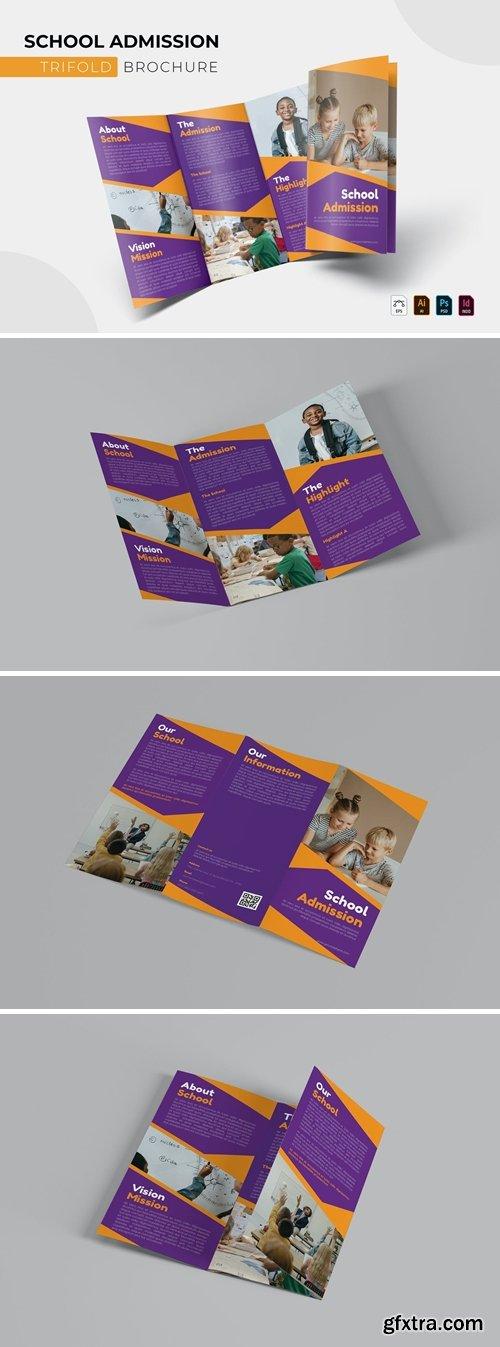 School Admission | Trifold Brochure