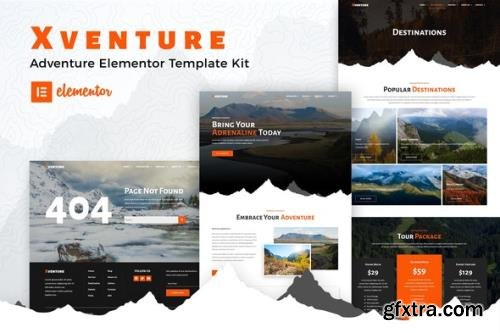 ThemeForest - Xventure v1.0.1 - Travel Elementor Template Kit - 30882926