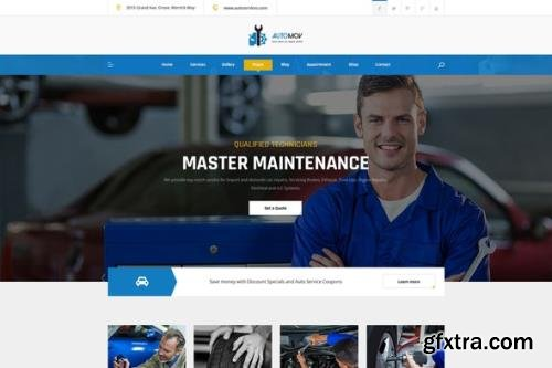 ThemeForest - Automov v1.0.0 - Car Repair & Services Elementor Template Kit - 30635896