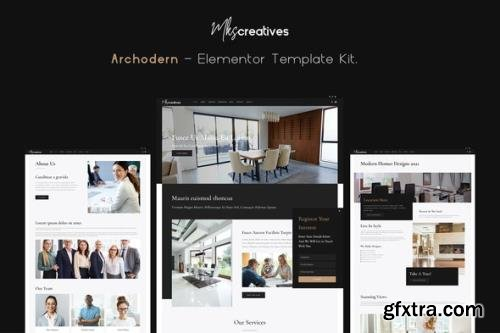 ThemeForest - Archodern v1.0.0 - Interior & Architecture Elementor Template Kit - 30781513