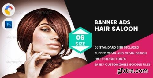 CodeCanyon - Hair Saloon Banner HTML5 v1.0 - 17927385