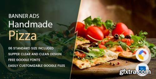 CodeCanyon - Pizza Banners HTML5 - GWD v1.0 - 17458882