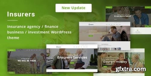 ThemeForest - Insurers v3.0.7 - Insurance Agency WordPress Theme - 19762207