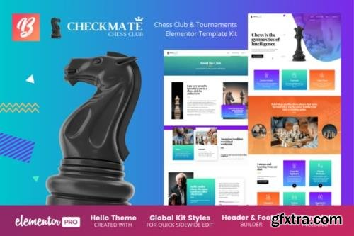 ThemeForest - CheckMate v1.0.1 - Chess Club & Tournaments Elementor Template Kit - 29880542