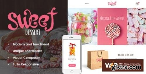 ThemeForest - Sweet Dessert v1.1.4 - Candy Shop & Cafe WordPress Theme - 19888037
