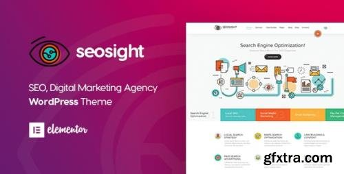 ThemeForest - Seosight v5.1.1 - Digital Marketing Agency WordPress Theme - 19245326 - NULLED