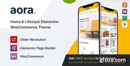 ThemeForest - Aora v1.0.7 - Home & Lifestyle Elementor WooCommerce Theme - 28962286