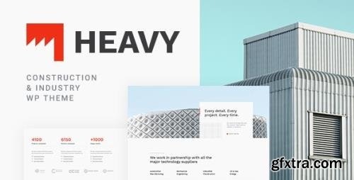 ThemeForest - Heavy v1.0.3 - Industrial WordPress Theme - 23711685