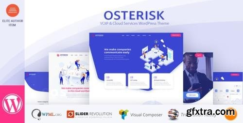 ThemeForest - Osterisk v2.2 - VOIP & Cloud Services WordPress Theme - 23077398