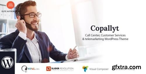 ThemeForest - Copallyt v3.6 - Call Center & Telemarketing WordPress Theme - 21062630