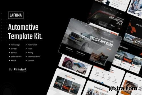 ThemeForest - Lafuma v1.0.1 - Automotive & Car Rental Elementor Template Kit - 30781121