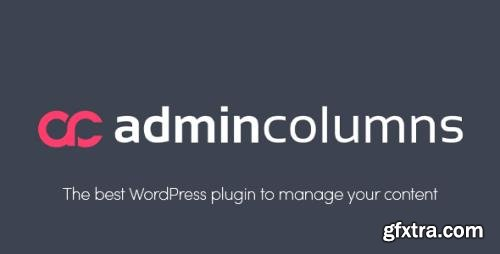 Admin Columns Pro v5.4.3 - WordPress Columns Manager - NULLED + Add-Ons