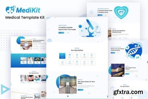 ThemeForest - MediKit v1.0.1 - Medical Template Kit - 26115049