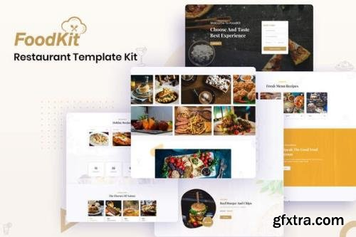 ThemeForest - FoodKit v1.0.1 - Restaurant Template Kit - 26028833