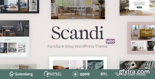 ThemeForest - Scandi v1.0.3 - Decor & Furniture Shop WooCommerce Theme - 24310547