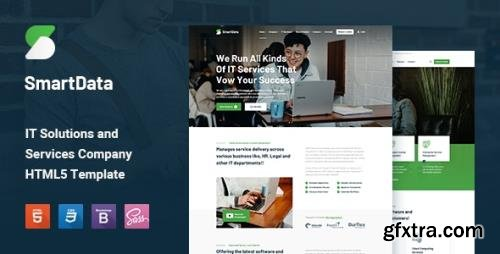ThemeForest - Smartdata v1.0 - IT Solutions & Services HTML5 Template - 29518788