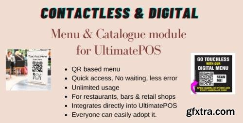 CodeCanyon - Digital Product catalogue & Menu module for UltimatePOS v0.4 - 28825346