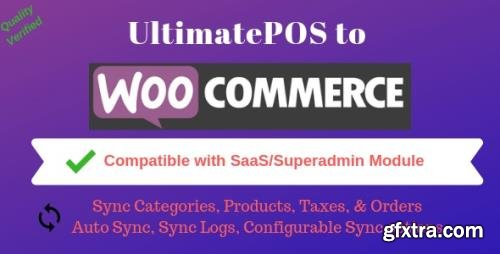 CodeCanyon - UltimatePOS to WooCommerce Addon (With SaaS compatible) v2.5 - 22874559