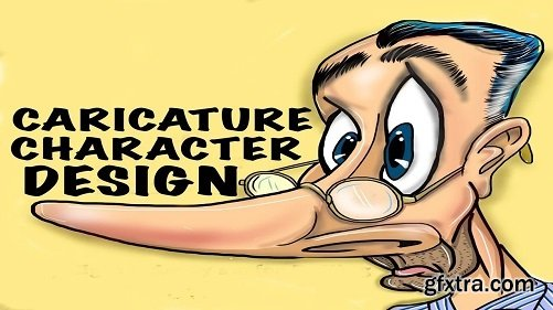 Caricature Character Design