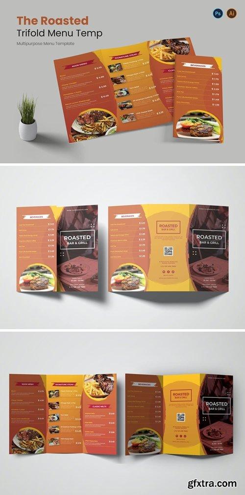 Roasted Restaurant Menu