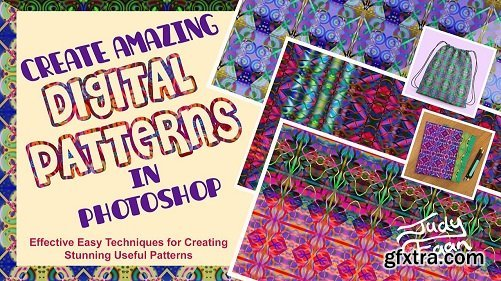 Create Amazing Digital Patterns in Photoshop!