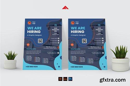 Creative Designer Job Hiring Flyer