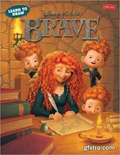 Learn to Draw Disney Pixar\'s Brave: Featuring favorite characters from the Disney/Pixar film, including Merida and Angus