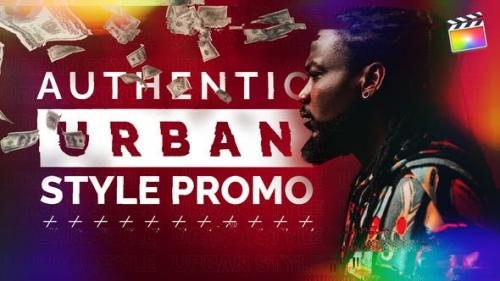 Videohive - Authentic Urban Style Promo | For Final Cut & Apple Motion